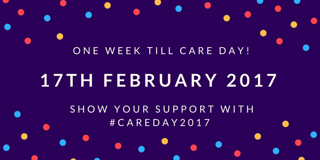 Care Day 2017: Celebrations Kick Off Next Week!