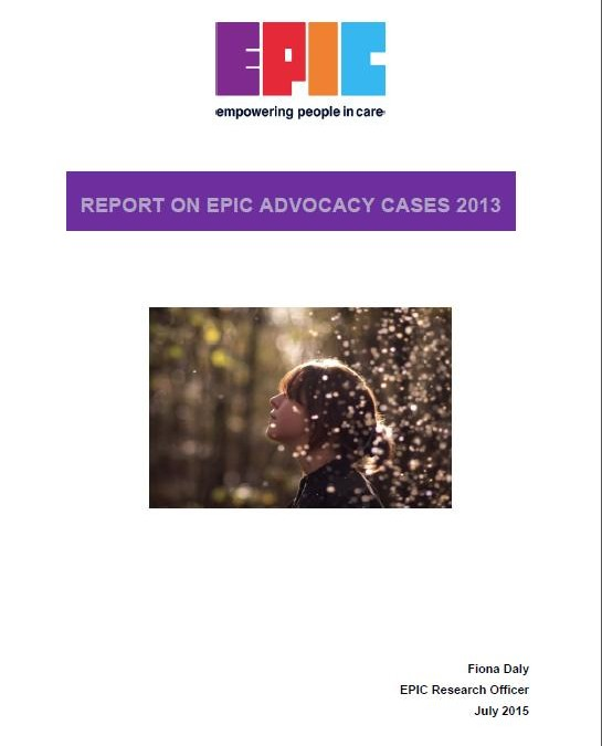 Report on EPIC Advocacy Cases 2013