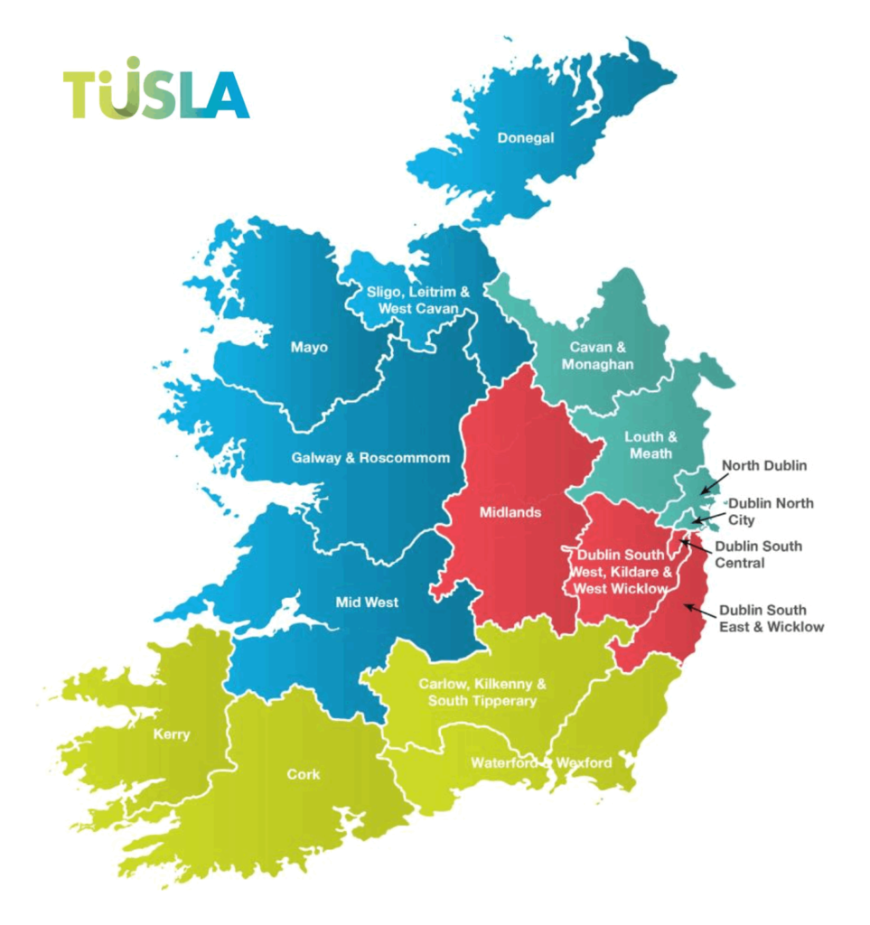 TUSLA Areas
